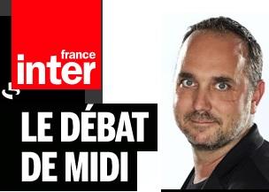 "France Inter, F. SARANO  le 30 juillet  à l'émission ""Le débat de midi."""