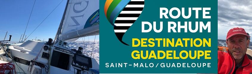 Eric JAIL est qualifié pour la Route du Rhum – Destination Guadeloupe !