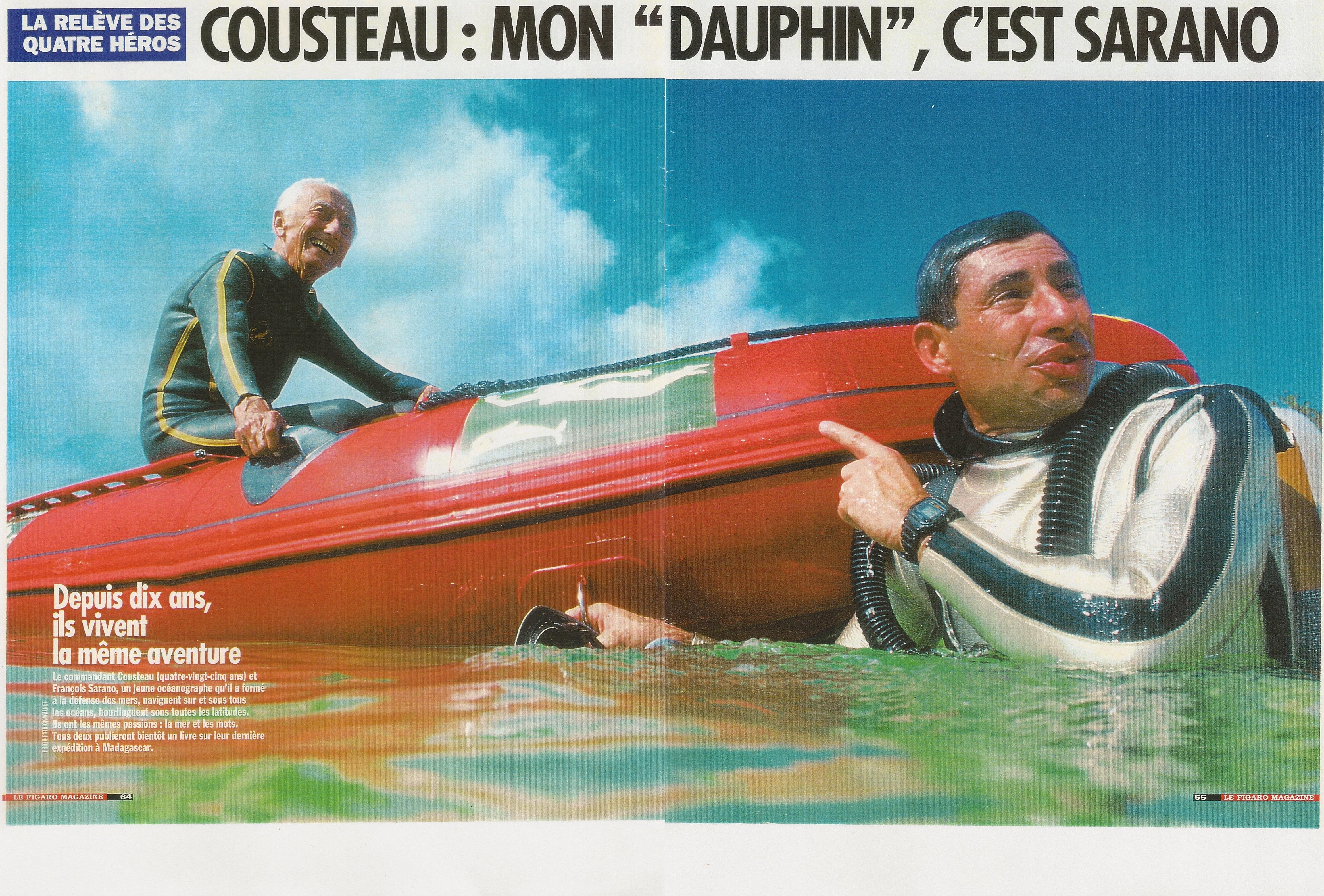 Figaro cousteau sarano