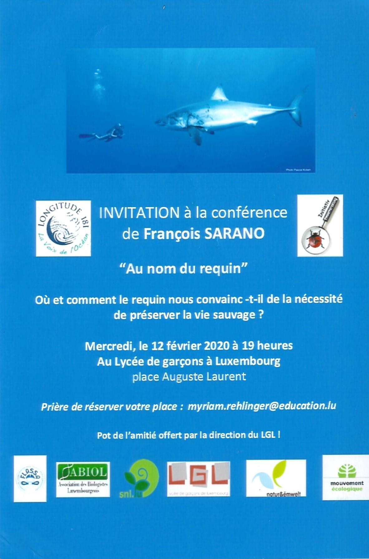 flyer conference Février LUX