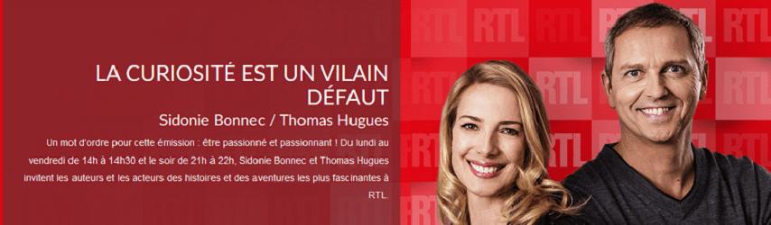 François SARANO, sociétaire de la curiosité sur RTL – 11/02/2020
