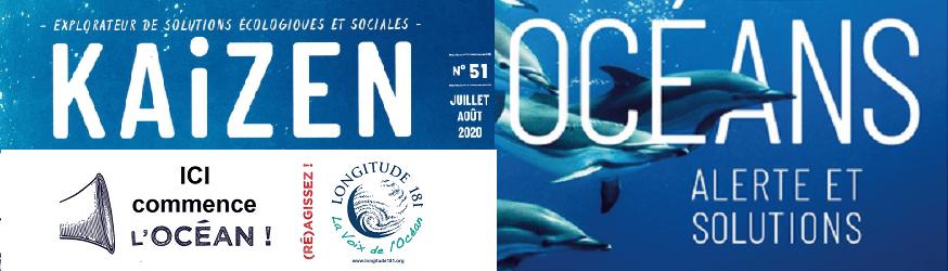 Sauvons l'Océan avec le magazine KAIZEN de Juillet-Aout  2020 !