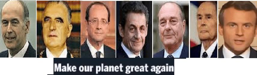 Paroles, paroles: 50 ans de politique présidentielle environnementale!