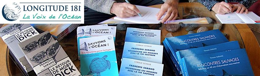 Nouveauté boutique : votre livre dédicacé par François Sarano !