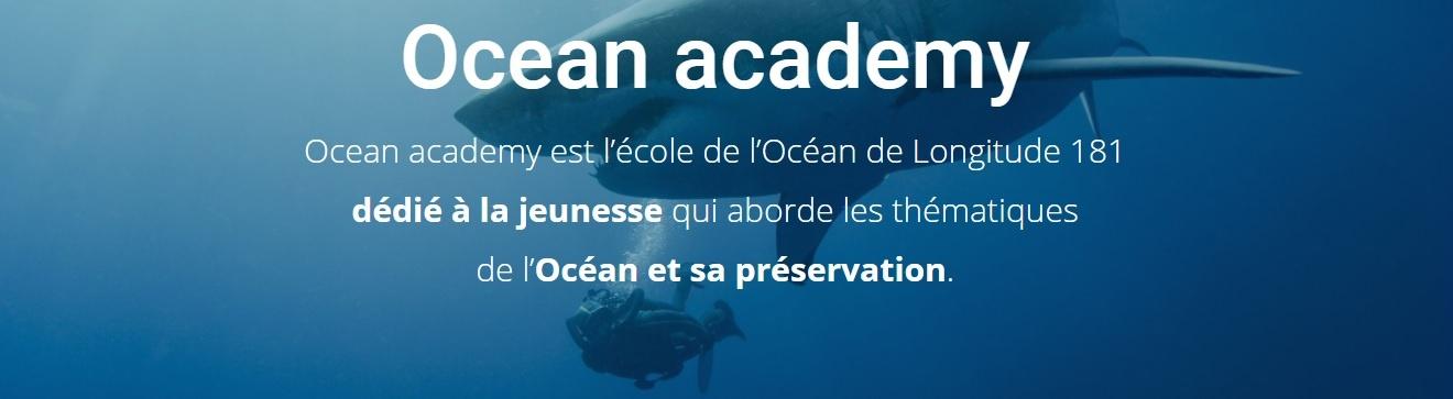 Un tout nouveau site entièrement dédié à Ocean academy