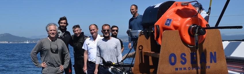 Programme cachalots: des bouées anticollision cétacés en Méditerranée
