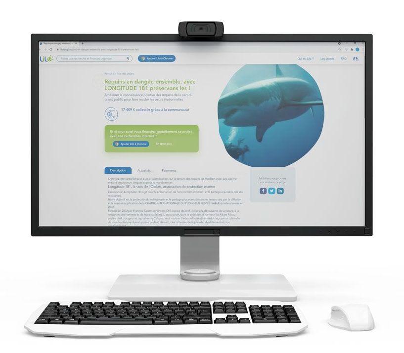 Soutenir LONGITUDE 181 en donnant des gouttes d'eau sur le moteur de recherche LILO